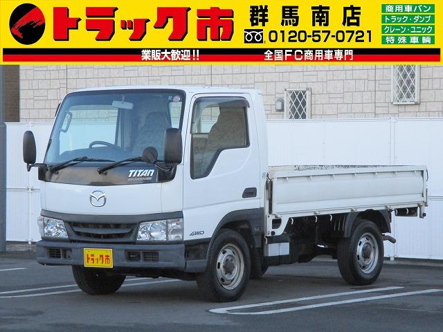 マツダ タイタンダッシュ 4WD・1.25t積・左電動ミラー (なし)