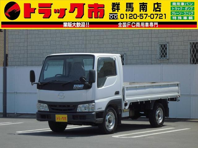 マツダ 4WD・1.25t積・10尺・左電動ミラー