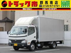 ダイナトラック2t積・アルミバン・垂直パワーゲート・ラッシングレール