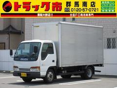 エルフトラック2t積・アルミバン・標準ロング・ラッシングレール・ETC