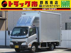 トヨエース1.85t・アルミバン・垂直パワーゲート・総重量4985kg