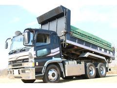 スーパーグレート長549幅239cm 新明和製ダンプ 積載9300kg