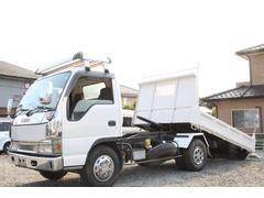 エルフトラック花見台製 ローダーダンプ ワイド 外装仕上げ済み