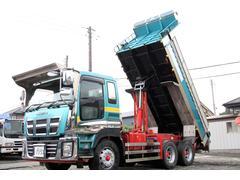 ギガ長510幅220cm 新明和製 ダンプ 積載9200kg