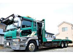 スーパーグレート重機回送車 積載10500kg ウインチ 1デフ