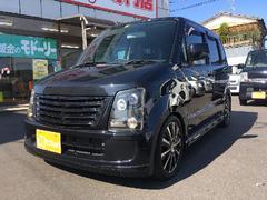 ワゴンRFX−Sリミテッド 車高調 社外アルミ
