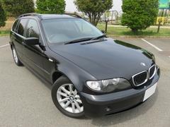 BMW325iツーリング黒革サンルーフ