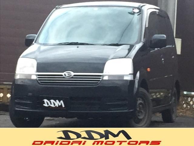 ダイハツ ムーヴ X 4WD ベンチシート タイミングベルト交換済...
