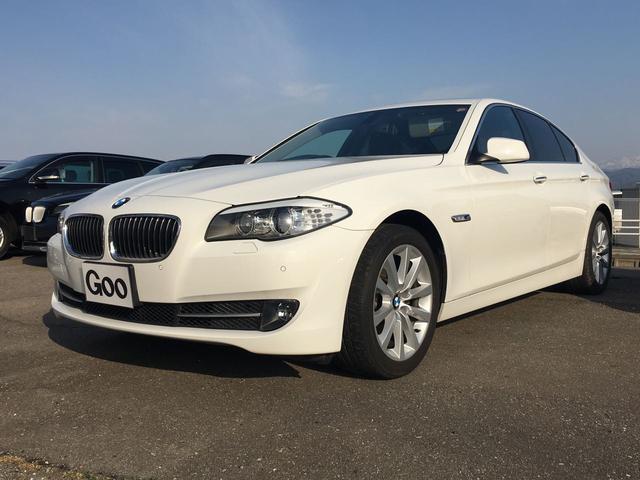 BMW 5シリーズ 528i ブラウンレザー サンルーフ 純正HD...