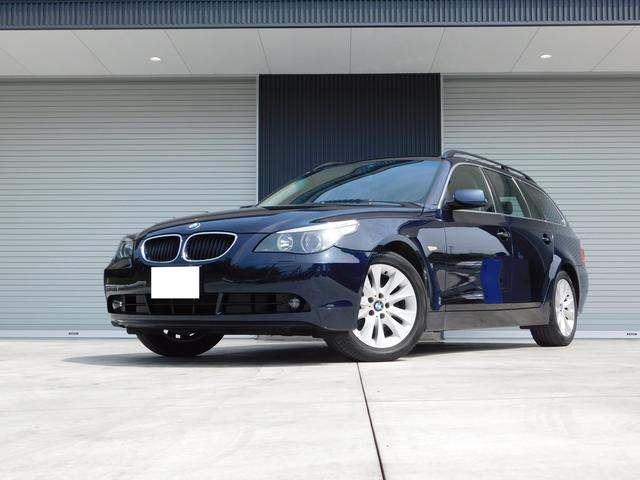 BMW 5シリーズ 525iハイライン エンジンミッションオイル漏...