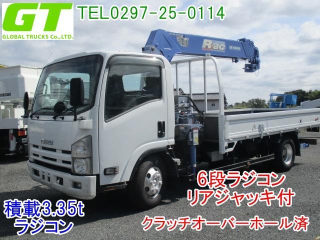 いすゞ エルフトラック タダノ製Z...