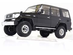 ランドクルーザープラドEXワイド4WD リフトUP タイベル交換済 レザー調シート