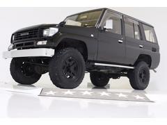 ランドクルーザープラドSXワイド 4WD リフトUP ナロー仕様 内装ブラウン車