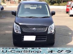 U-CarShop オグラ・スズキ ワゴンR FX キーレス ベンチシート フルフラット CD 社外AWの画像