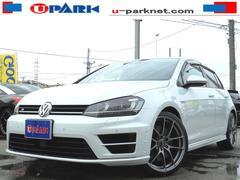 VW ゴルフRベースグレード DCC 黒革シート ACC ディスプロ