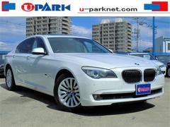 BMW740iコンフォートpkg プラスpkg SR 黒革 HDD