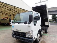 エルフトラック強化ダンプ フルフラットロー 4WD 積載2t