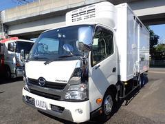 デュトロ低温冷凍車 全低床 ワイドロング パワーゲート 積載2t