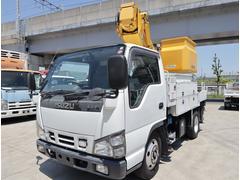 (株)カクタ トラック・バス専門店・いすゞ エルフトラック 高所作業車 タダノ 9.9m 電工仕様の画像