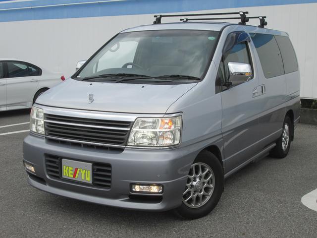日産 エルグランド X 4WD ツインサンルーフ ツインナビ (車...