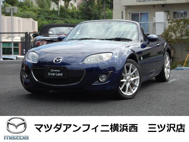 マツダ RS RHT NC2型中期モデル 純正ナビ付