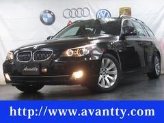 BMW525iツーリングハイライン パノラマSR 本革 HDDナビ