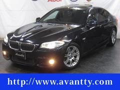 BMW523d Mスポーツ サンルーフ HDDナビTV 1オーナー