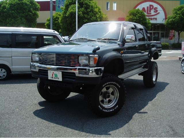 トヨタ ダブルキャブ SSR-X ボディリフト