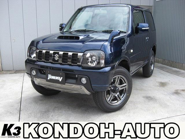 スズキ ランドベンチャーターボ4WD限定車10型AT人気のブルー