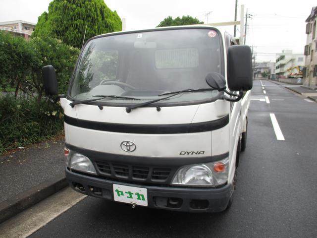 トヨタ フルジャストローダンプ強化 2トン