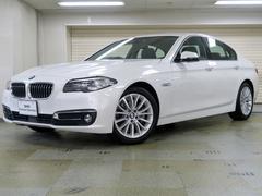 BMW523iラグジュアリー 黒革 アクティブクルーズ 認定中古車