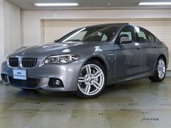 BMW550i Mスポーツ コンフォートP 黒革 ナイトビジョン