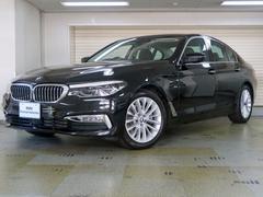 BMW523dラグジュアリー デビューパッケージ 黒革 認定中古車