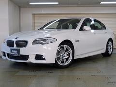 BMW523iMスポーツパッケージ ハイラインP 黒革 認定中古車