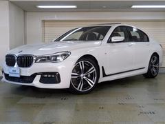 BMW750i Mスポーツ リモートパーキング モカレザー