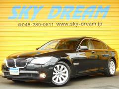 BMW740i サンルーフ 黒革エアシート 電動トランク