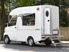 クリッパートラック 展示車ヤドカリキャンピング180cmベッドFFヒーター天窓付(日産)