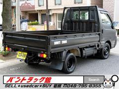 バネットトラックマットブラック850kg積載ウッドデッキ荷掛けフック付MT車