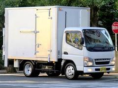キャンターー30℃〜25℃低温冷凍冷蔵車2t10尺左右扉パワーゲート付