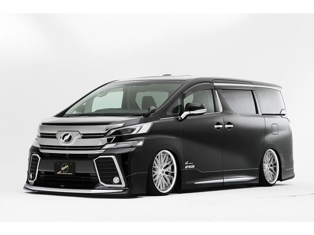 トヨタ 車高調機能付きエアサス&WORK20インチ カスタム車両