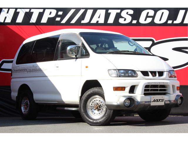 三菱 デリカスペースギア シャモニー 4WD コラムAT ETC ...