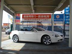 BMW650iカブリオレ ディーラー車 HDDナビ 19AW 右H