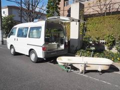 ボンゴバン福祉車両 移動入浴車 デベロ製バスカ4人乗り