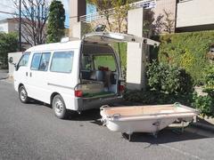 ボンゴバン福祉車両 移動入浴車 デベロ製2層バスタブ