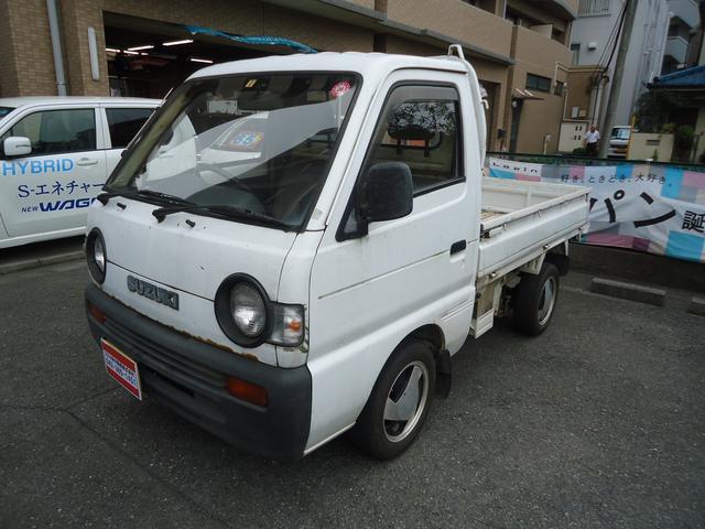 スズキ キャリイトラック ベースグレード (車検整備付)