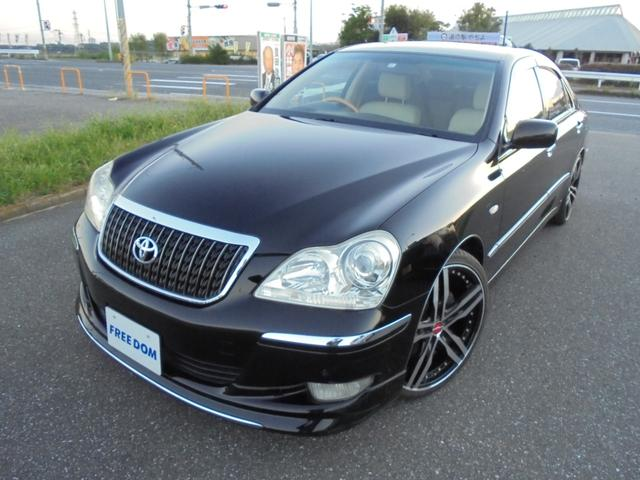 TOYOTA CROWN MAJESTA A TYPE | 2007 | BLACK | 69,802 km | details