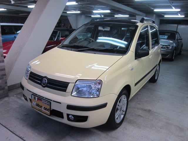 フィアット ニューパンダ Maxi 1オーナー ダブルサンルーフ ...