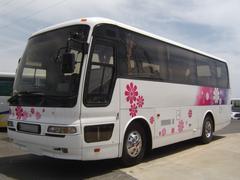 三菱ふそうNOXPM適合 中型観光29人乗り 回転式サロ