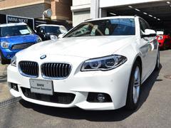 BMW523iツーリングMsport認定中古車 黒革 ACC
