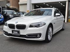 BMW523d ラグジュアリー認定中古車 黒革 サンルーフ ACC